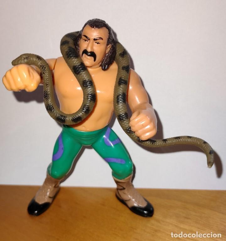 "Figuras y Muñecos Pressing Catch: MUÑECO JAKE ""SNAKE"" ROBERTS PRESSING CATCH WWF (HASBRO AÑOS 90) - Foto 2 - 254759960"