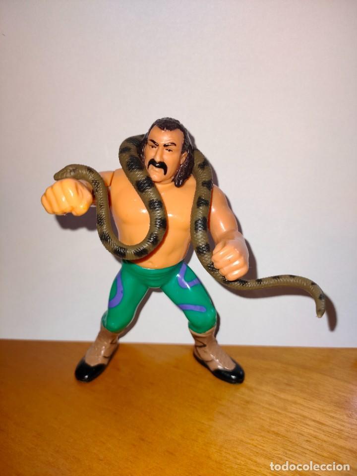 "Figuras y Muñecos Pressing Catch: MUÑECO JAKE ""SNAKE"" ROBERTS PRESSING CATCH WWF (HASBRO AÑOS 90) - Foto 3 - 254759960"
