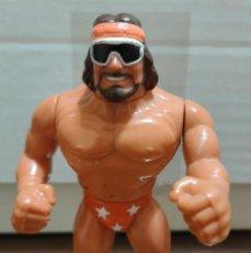Figuras y Muñecos Pressing Catch: MUÑECO MACHO MAN RANDY SAVAGE PRESSING CATCH WWF (HASBRO AÑOS 90). Lote 254762910