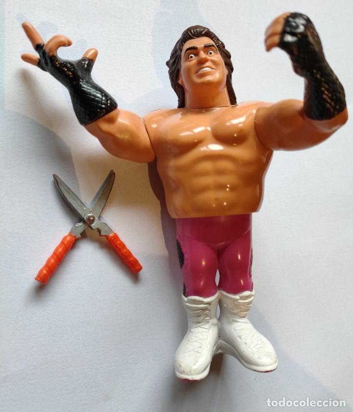"""MUÑECO BRUTUS BEEFCAKE """"EL BARBERO"""" PRESSING CATCH WWF (HASBRO AÑOS 90) (Juguetes - Figuras de Acción - Pressing Catch)"""