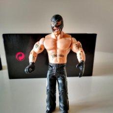 Figuras y Muñecos Pressing Catch: FIGURA ARTICULADA REY MISTERIO PRESSING CATCH WWE 2005 BUEN ESTADO EN GENERAL 17 CM. Lote 254870020
