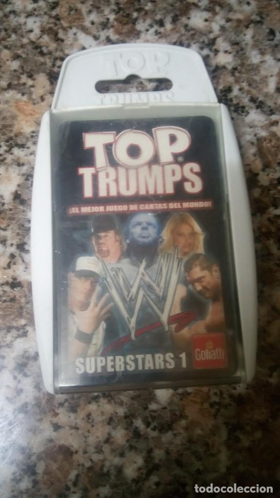 TOP TRUMPS GOLIATH WWE (Juguetes - Figuras de Acción - Pressing Catch)
