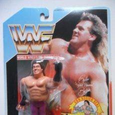 Figuras e Bonecos Pressing Catch: WWF BRUTUS BEEFCAKE EL BARBERO FIGURA EN BLISTER HASBRO MB ESPAÑA 1990. Lote 257669725
