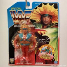 Figuras y Muñecos Pressing Catch: HASBRO WWF RICKY THE DRANGON STEAMBOAT. PRESSING CATCH. VINTAGE AÑO 1.992. NUEVO.. Lote 262459250
