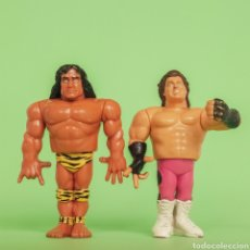 Figuras y Muñecos Pressing Catch: LOTE JIMMY SNUKA Y BRUTUS BEEFCAKE EL BARBERO WWF. Lote 269438588