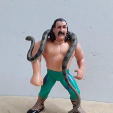 Figuras y Muñecos Pressing Catch: FIGURA JAKE THE SNAKE. TITAN 1990. COMPLETO. Lote 280126173