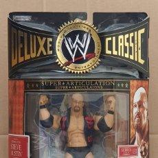 "Figuras y Muñecos Pressing Catch: FIGURA WWE ""STONE COLD"" STEVE AUSTIN. DELUXE CLASSIC SUPERSTARS SERIES 1. JAKKS PACIFIC 2006. Lote 283261808"
