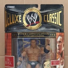 Figuras y Muñecos Pressing Catch: FIGURA WWE THE ROCK. DELUXE CLASSIC SUPERSTARS SERIES 1. JAKKS PACIFIC 2006. Lote 283264348
