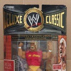 Figuras y Muñecos Pressing Catch: FIGURA WWE HULK HOGAN. DELUXE CLASSIC SUPERSTARS SERIES 1. JAKKS PACIFIC 2006. Lote 283265233
