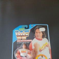 Figuras y Muñecos Pressing Catch: WWF HASBRO ROWDY RODDY PIPER FRENCH CARD (RARO). Lote 284241438