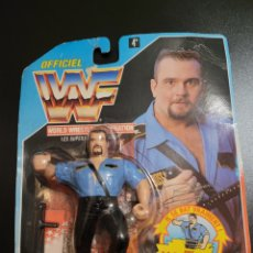 Figuras y Muñecos Pressing Catch: WWF HASBRO BIG BOSS MAN S3 NUEVO CARTA FRANCES RARO. Lote 286954343