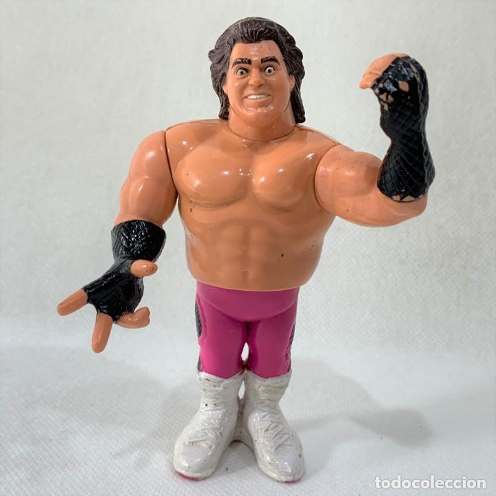 FIGURA PRESSING CATCH - WWF - TITAN SPORT - BRUTUS BEEFCAKE - EL BARBERO -1991 (Juguetes - Figuras de Acción - Pressing Catch)