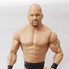 Figuras y Muñecos Pressing Catch: STONE COLD STEVE AUSTIN WWE MATTEL 2011. Lote 287864123