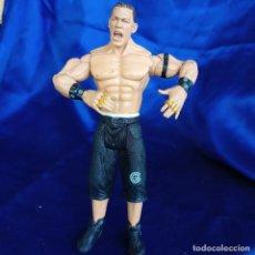 Figuras y Muñecos Pressing Catch: FIGURA WWE JAKKS 2003: JOHN CENA CON ANILLOS. Lote 288679978
