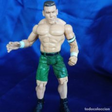 Figuras y Muñecos Pressing Catch: JOHN CENA FIGURA PRESSING CATCH LUCHA LIBRE WWE TITAN TRON, JAKKS PACIFIC 1999. Lote 288680173