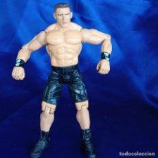 Figuras y Muñecos Pressing Catch: JOHN CENA FIGURA PRESSING CATCH LUCHA LIBRE WWE TITAN TRON, JAKKS PACIFIC 1999. Lote 288680243