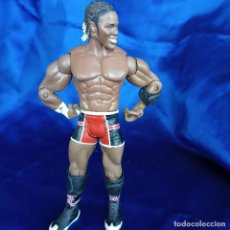 Figuras y Muñecos Pressing Catch: WWE ELIJAH BURKE JAKKS PACIFIC 2004. Lote 288705358