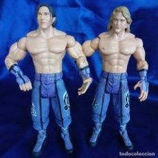 Figuras y Muñecos Pressing Catch: WWE PAUL LONDON BRIAN KENDRICK WWF JAKKS PACIFIC 2003. Lote 288722553