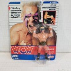 Figuras y Muñecos Pressing Catch: STING THE STINGER WCW GALOOB,NO HASBRO NO WWC. Lote 289332128