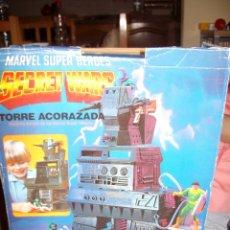 Figuras e Bonecos Secret Wars: TORRE ACORAZADA SECRET WARS + REGALO TURBO CYCLE Y DOOM CYCLE. Lote 43338618