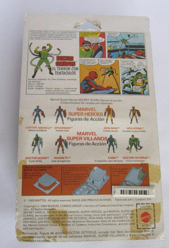 Figuras y Muñecos Secret Wars: SECRET WARS DOCTOR OCTOPUS, EN BLISTER. CC - Foto 2 - 57000585