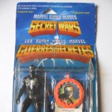 Figuras y Muñecos Secret Wars: MARVEL SECRET WARS SPIDERMAN BLACK EN BLISTER MATTEL 1984. Lote 62122248