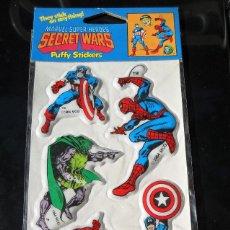 Figuras y Muñecos Secret Wars: MARVEL SUPER HEROES SECRET WARS PUFFY STICKERS 1984. Lote 62123112