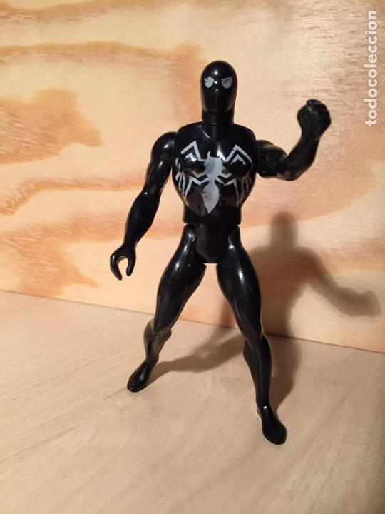 MARVEL SECRET WARS FIGURA SPIDERMAN NEGRO 1984 (Juguetes - Figuras de Acción - Secret Wars)