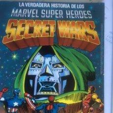 Figuras y Muñecos Secret Wars: LA VERDADERA HISTORIA DE LOS SECRET WARS COMIC 1984. Lote 83091920