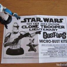 Figuras y Muñecos Secret Wars: STAR WARS CLONE TROOPER - LIEUTENANT - MICRO-BUST KITS. Lote 91882720