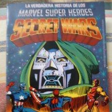 Figuras y Muñecos Secret Wars: LA VERDADERA HISTORIA DE LOS MARVEL SUPER HEROES SECRET WARS CATÁLOGO GRATUÍTO PROMOCIONAL. VER. . Lote 94781931