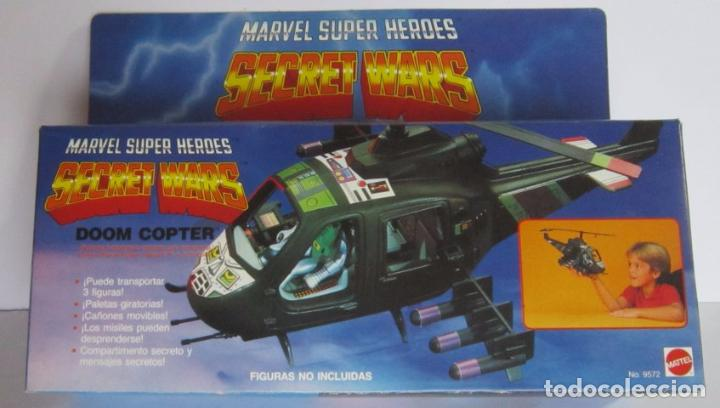 SECRET WARS DOOM COPTER EN CAJA. CC (Juguetes - Figuras de Acción - Secret Wars)
