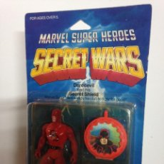 Figuras y Muñecos Secret Wars: MASTERS LOTE DARE DEVIL SECRET WARS BLISTER PRECINTADO 1984 SUOER HEROES SPIDERMAN IRONMAN ICE MAN. Lote 105555591