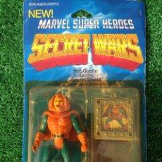 Figuras y Muñecos Secret Wars: MASTERS LOTE BLISTER DUENDE HOBGOBLIN SPIDERMAN MARVEL SECRET WARS SUPERHEROES MATTEL SUPERMAN DEVIL. Lote 107759855