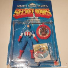 Figuras y Muñecos Secret Wars: MARVEL SUPER HEROES SECRET WARS MATTEL CAPITAN AMERICA Y SU ESCUDO SECRETO AÑOS 80. Lote 116823839