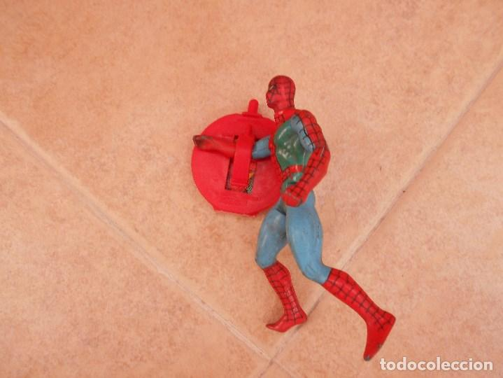 Figuras y Muñecos Secret Wars: FIGURA SECRET WARS SPIDERMAN MARVEL AÑO 85 BUEN ESTADO - Foto 7 - 127117052