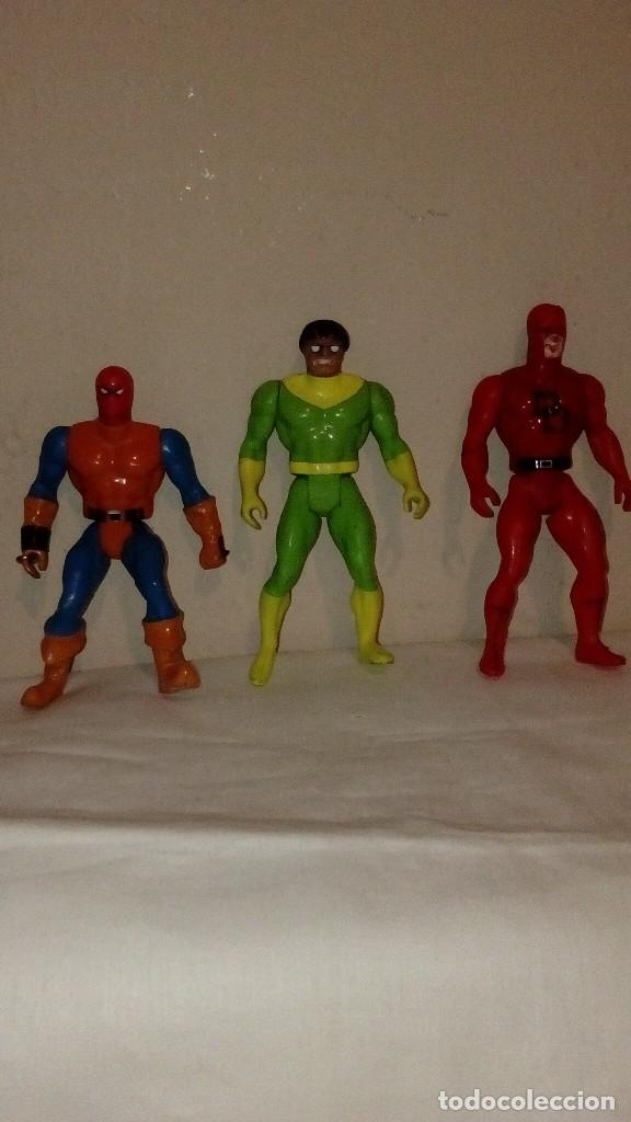 LOTE DE 3 FIGURAS MARVEL 1984 DE SECRET WARS DARE DEVIL DAREDEVIL DOCTOR OCTOPUS ... (Juguetes - Figuras de Acción - Secret Wars)