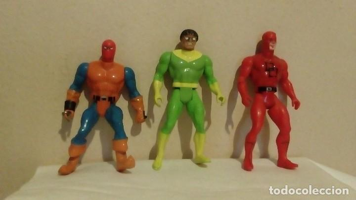 Figuras y Muñecos Secret Wars: LOTE DE 3 FIGURAS MARVEL 1984 DE SECRET WARS DARE DEVIL DAREDEVIL DOCTOR OCTOPUS ... - Foto 2 - 122617279