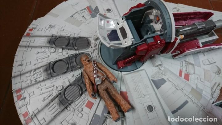 Figuras y Muñecos Secret Wars: NAVE HALCÓN MILENARIO DE HASBRO, STAR WARS - Foto 8 - 132586446