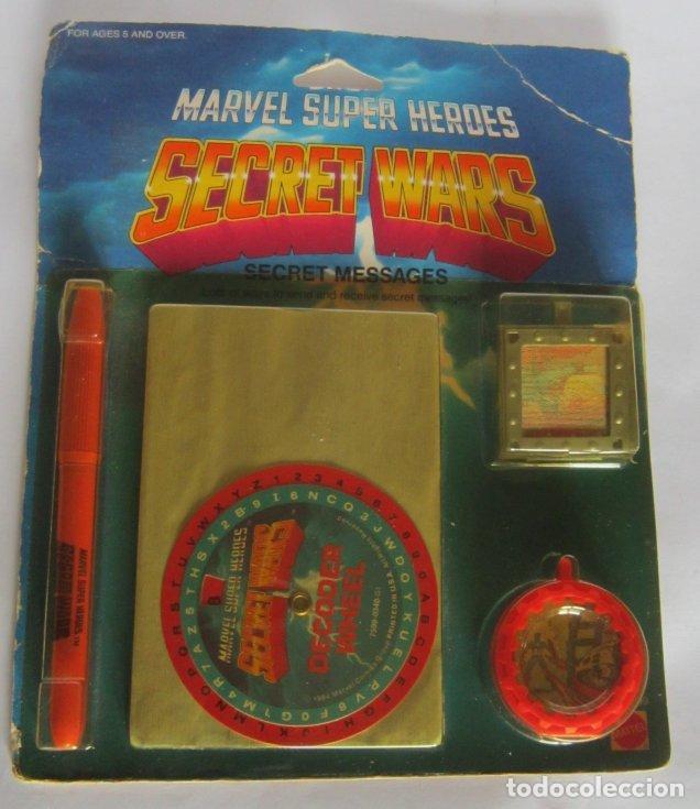 SECRET WARS, SECRET MESSAGES DE MATTEL, AÑO 1984, EN BLISTER. CC (Juguetes - Figuras de Acción - Secret Wars)