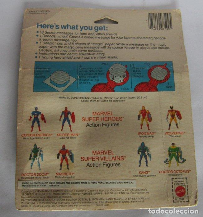 Figuras y Muñecos Secret Wars: SECRET WARS, SECRET MESSAGES DE MATTEL, AÑO 1984, EN BLISTER. CC - Foto 2 - 140835786