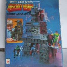 Figuras y Muñecos Secret Wars: SECRET WARS TORRE ACORAZADA, EN CAJA. CC. Lote 141159438