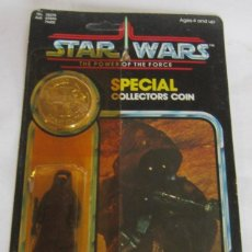 Figuras y Muñecos Secret Wars: FIGURA STAR WARS JAWA, DE KENNER, SPECIAL COLLECTORS COIN, EN BLISTER. CC. Lote 143238306