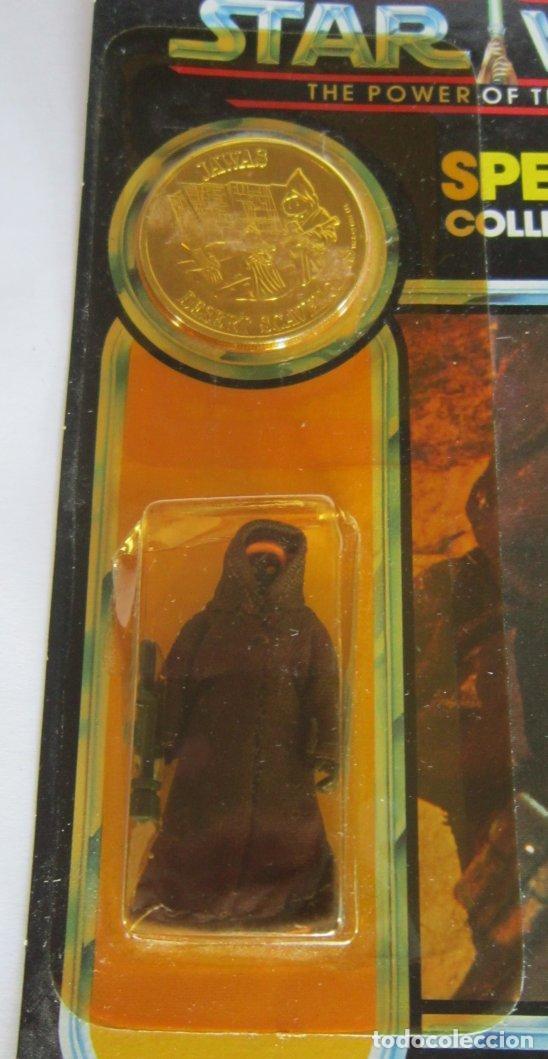 Figuras y Muñecos Secret Wars: FIGURA STAR WARS JAWA, DE KENNER, SPECIAL COLLECTORS COIN, EN BLISTER. CC - Foto 3 - 143238306