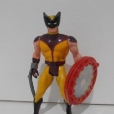 Figuras y Muñecos Secret Wars: FIGURA, LOBEZNO WOLVERINE, SECRET WARS, CON ESCUDO, MARVEL, MATTEL, FRANCE 1984. Lote 147575752