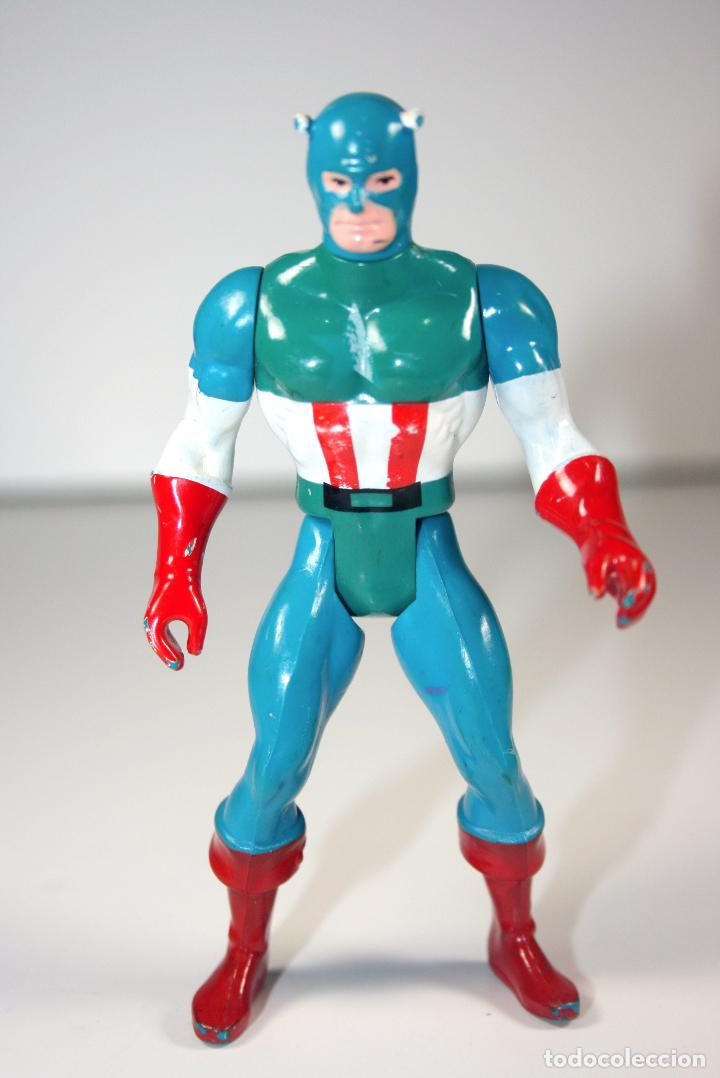 SECRET WARS MARVEL SUPER HEROES ORIGINAL 1984 - CAPITAN AMERICA - MADE IN FRANCE (Juguetes - Figuras de Acción - Secret Wars)