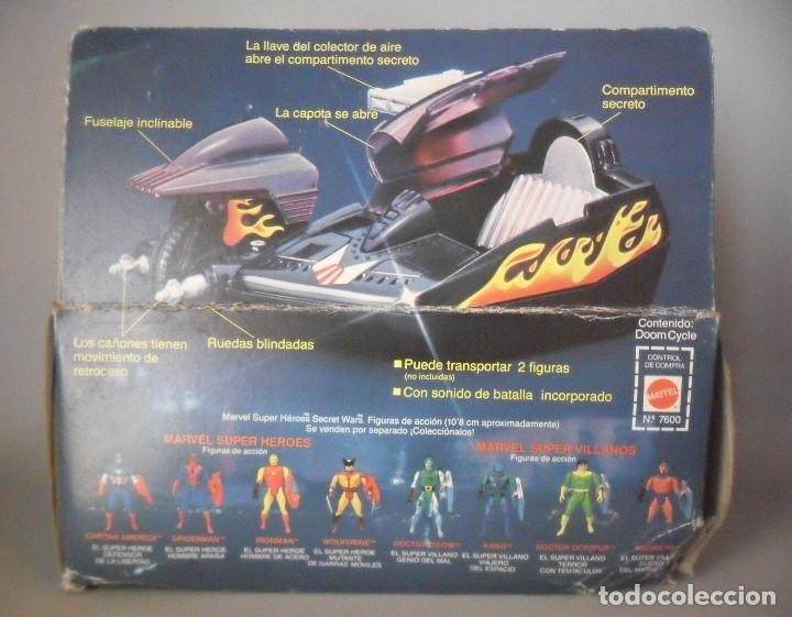 Figuras y Muñecos Secret Wars: MARVEL SECRET WARS DOOM CYCLE MATTEL 1984 - Foto 6 - 146474502