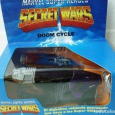 Figuras y Muñecos Secret Wars: SECRET WARS DOOM CYCLE. AÑOS 80, NUEVO, SIN ESTRENAR. PROCEDE DE COLECCIONISTA.. Lote 148047582