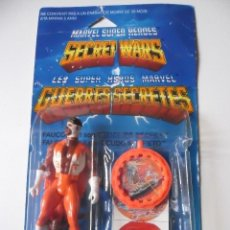 Figuras y Muñecos Secret Wars: MARVEL SECRET WARS FALCON CON ESCUDO DE ICEMAN EN BLISTER MATTEL 1984. Lote 148332618
