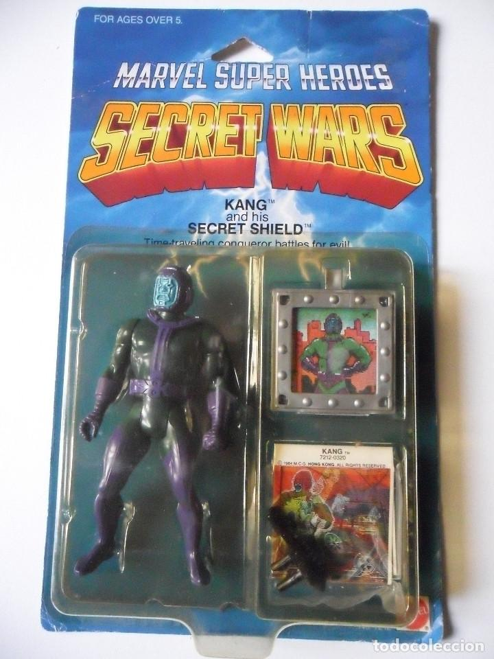 MARVEL SECRET WARS KANG EN BLISTER MATTEL 1984 (Juguetes - Figuras de Acción - Secret Wars)